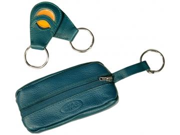 """Schlüsselmäppchen mit Schlüsselanhänger """"Zwei in Eins"""""""