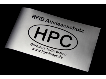 Universal-Ausleseschutzfolie (RFID)
