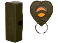 Lippenstiftbox mit Herzschlüsselanhänger