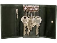 Schlüsselmäppchen mit Haken und Geldscheinfach