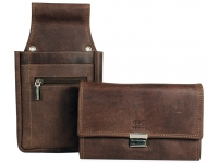 Kellner-Geldbörse im Set mit Holster